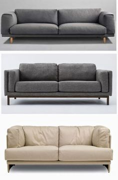 Smarter Alec: High/Low: Big Cushion Couches