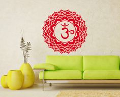 Vinyl Decal Crown Chakra Religion Faith Symbol by SuperVinylDecal, $24.99