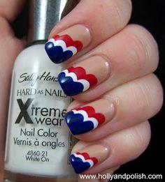Holly and Polish: American Cloud Nails