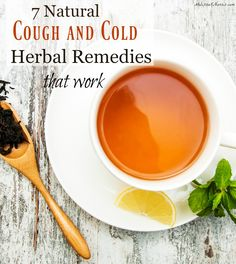 cough and cold herbal remedies   family wellness   flu season   natural health   holistic health