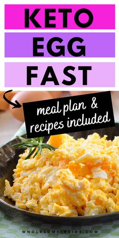 Are you ready to lose weight fast?! Check out this keto egg fast that will have you shedding the weight easily! I've included a meal plan and recipes for you to make this keto diet plan as simple as possible. Keto Egg Fast, Keto Supplements, Egg Diet, Lose 20 Lbs, Keto Diet Plan, Poached Eggs, Egg Recipes, How To Lose Weight Fast, Meal Planning