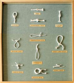 knots. Think I can get Jake to help me make this :)
