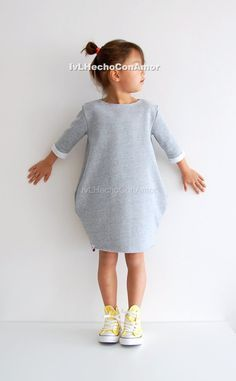Oversized Sweater Dress for Girls My toddler sweater dress is absolutely adorable and makes the perfect addition to any wardrobe of all the little fashionistas. The sweater dress is comfortable to wear because its oversized, it has 2 big pocket and your little girl will look trendy and stylish. ►TO ORDER 1. Select the size and color from the drop down menu 2. Add a Note to Seller in case you have any special requests ________________________________________________________ ►PRODUCT DESC...