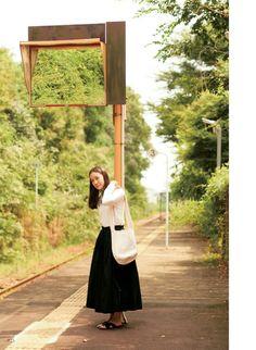 aoi yu 蒼井優 Girl Fashion Style, Mori Girl Fashion, Yu Aoi, Honey And Clover, Simple Style, Flower Art, Bohemian Style, Asian Girl, Photography