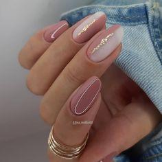 Chic Nails, Stylish Nails, Trendy Nails, Best Acrylic Nails, Acrylic Nail Designs, Nagellack Design, Neutral Nails, Fire Nails, Elegant Nails