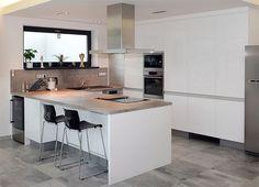 Moderní kuchyně vyrobené na míru