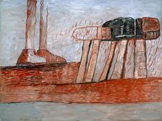 """Lower Level"", Philip Guston, 1975"