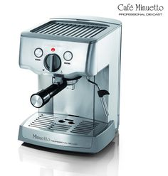 Espressione 1324 Cafe Minuetto Professional Die-Cast Espresso/Cappuccino Maker, Silver *** This is an Amazon Affiliate link. Check out the image by visiting the link.