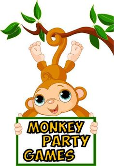 Monkey theme party games