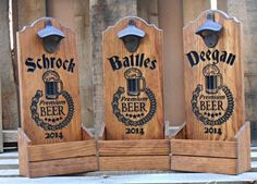 Bottle cap catcher personalized. Man cave gift for by MVwoodworks, $41.95