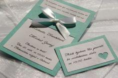 Originální svatební oznámení+pozvánka+obálka!! Nabízím ke koupi originální a ručně vyráběné svatební oznámení vytvořené ztvrdého papíru vzoru imitace kůže vzelené(mint) a bílé barvě. Oznámení je ozdobené saténovoubílou stuhou uvázanou do tvaru mašličky. Barvu, text i citáty na toto oznámení si samozřejmě můžete vybrat dle svého uvážení. ...