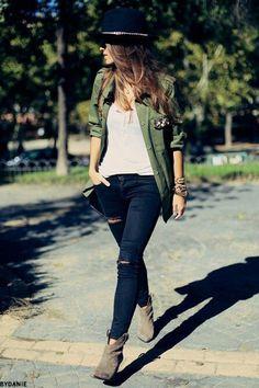Army Jacket Trend