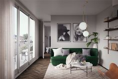 Branding of property development in Stockholm, Sweden.