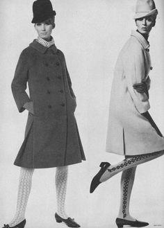 Brigitte Bauer, Vogue, September 1964