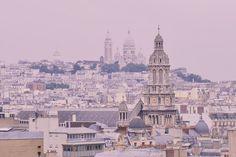 Paris vue sur la Trinité et Montmartre #parisjetaime