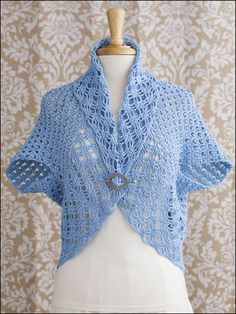 Summer Turtleback Jackets crochet pattern download from AnniesCatalog.com -- Get 2 designs in this popular crochet pattern download!