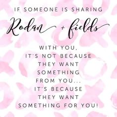 Rodan + Fields is a great opportunity. No inventory or parties required. Work from home, make your own schedule and be your own boss.