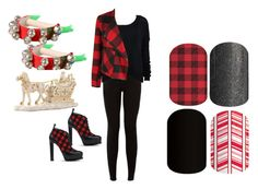 """Guess the Christmas Song - Jamberry Nails Game"" by kspantonjamon on Polyvore featuring Lenox, Dex and Sophia Webster"