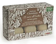 Kate Forester for Waitrose Christmas Love, Christmas Design, Pretty Packaging, Packaging Design, Waitrose Christmas, Mince Pies, Freelance Illustrator, Decorative Boxes, Mini