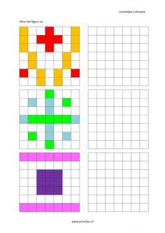 Foi de lucru - Orientare spațială - nakleuren ~ ra Milou Preschool Learning Activities, Kindergarten Fun, Preschool Printables, Fun Activities For Kids, Grade R Worksheets, Symmetry Worksheets, Handwriting Games, Visual Perceptual Activities, Graph Paper Drawings