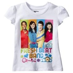 Find shirts at Target.com! Nickelodeon infant toddler girls' the fresh beat band tee - white 12m