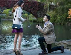 Fotógrafo espião captura lindos pedidos de casamento - Poésie