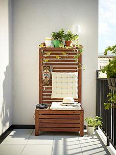 Schön sitzbank für balkon