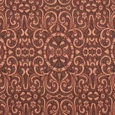 Italian Copper Classical Brocade