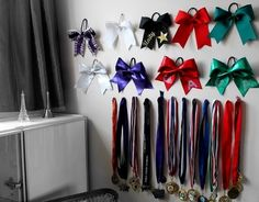 Bows and medals