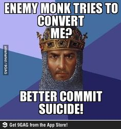 Age of Empire logic Best Funny Pictures, Cool Pictures, Funny Pics, Funny Memes, Hilarious, Age Of King, Videogames, Age Of Empires, Geek Games
