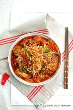 Korean Food, Ratatouille, Thai Red Curry, Soup, Baking, Ethnic Recipes, Kitchens, Food Food, Cooking
