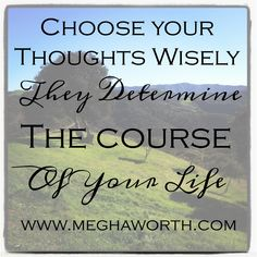 The way you think can be the cause of your chronic illness.  You can choose your thoughts to get well.