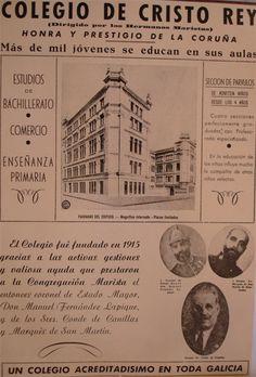 Historia | Colegio Marista Cristo Rey, A Coruña