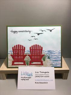 seasonal layers thinlits (Chairs), high tide stamp set