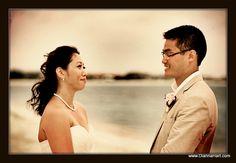 Turks and Caicos beach ceremony. www.DiannaHart.com