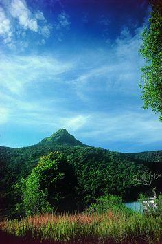 Adams Peak, highest point in Sri Lanka