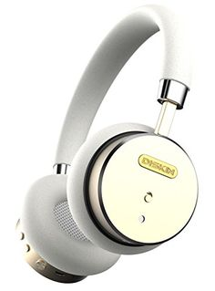 Special Offers - Diskin Premium Bluetooth Wireless Headphones with Built in Microphone and Noise Cancelling Hands Free Talk Best Bluetooth Wireless Headphones for Iphone & Android (White/Gold) - In stock & Free Shipping. You can save more money! Check It (April 02 2016 at 02:06PM) >> http://eheadphoneusa.net/diskin-premium-bluetooth-wireless-headphones-with-built-in-microphone-and-noise-cancelling-hands-free-talk-best-bluetooth-wireless-headphones-for-iphone-android-whitegold/