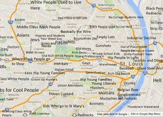 Judgmental Map of St. Louis - The St. Louis Egotist