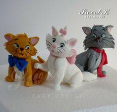 Aristocats - by Karla (Sweet K) @ CakesDecor.com - cake decorating website
