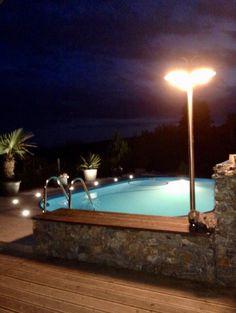 Pool, Beleuchtung, bei Zuzana Petrović Bathtub, Outdoor Decor, Modern, Home Decor, Standing Bath, Homemade Home Decor, Bath Tub, Bathtubs, Decoration Home