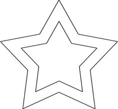 Resultado de imagem para moldes estrelas