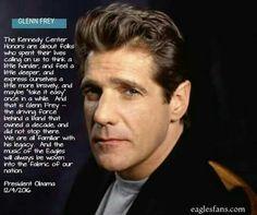 President Barack Obama Quote about Glenn Frey