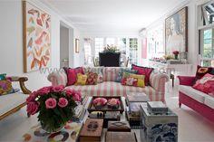 anna spiro's gorgeous living room.