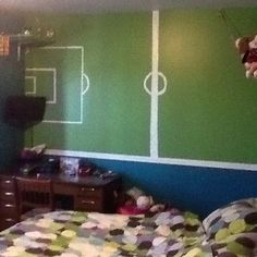 boys ikea bedrooms | boys bedroom soccer theme photo gallery go to
