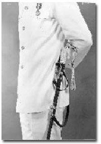 How to wear the Navy Sword & Coast Guard Sword, #3