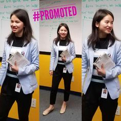 The promotions just keep on coming!!  Chen Hu congratulations!  Nothing makes us happier than seeing our team succeed. #growth #careergoals #advancement #promotion #businesswoman #carsonca #olninc
