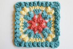Beautiful granny squares! #crochet