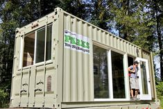 King County Parks and HyBrid Architecture Unveil Upcycled Shipping Container Camper | Inhabitat - Sustainable Design Innovation, Eco Architecture, Green Building