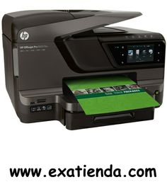 Ya disponible Multif. HP officejet 8600 plus                 (por sólo 221.72 € IVA incluído):   -Tipo de dispositivo:Impresión, copia, escaneo, envío de fax, web -Tecnología:Inyección térmica de tinta HP -IMPRESORA -Velocidad de impresión: *Negro:Comparable con láser ISO hasta 20 ppm y borrador hasta 35ppm *Color:Comparable con láser ISO hasta 16 ppm y borrador hasta 35ppm -Tipos de papel:A4; A5; A6; B5(JIS); Sobre (DL, C5, C6, Chou #3, Chou #4); Tarjeta (Hagaki,