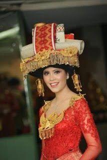 Karonese traditional costume, North Sumatra, Indonesia